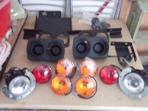 JCB Groundhog Workmax Road Light Kit