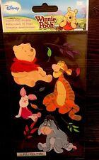 Jolee's EK Disney Winnie The Pooh Tigger Eeyore Piglet Scrapbook Stickers
