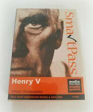Henry V William Shakespeare Full-cast Drama Analysis Audio CD Study Guides
