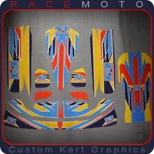 Fa Alonso Kart Sticker Kit for Otk M4 TonyKart Rotax Max 177 X30 TaG Rok Kz Kz2