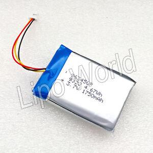 Single Cell Lipo Akku 1S 3,7V 1750mAh 2C Falcom Mambo 2 Handy GPS R/C NAVI