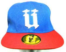 Unkut Caps Baseball Cap Snapback Paris Miami New York Unkut Heads NWT 58 CM Blue