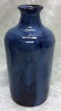 Hobart Garner, Teague, N. C. Art Pottery Cobalt Bottle