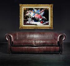 Glenna Kurz Original Oil PAINTING On Board Signed Still Life Flowers Artwork SBO
