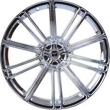 4 GWG Wheels 17 inch Chrome FLOW Rims fits NISSAN ALTIMA SEDAN 2007 - 2012