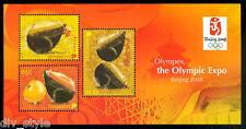 Singapore 2008 Beijing Olympics Souvenir Sheet mnh Olympex expo