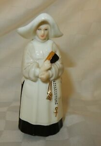 Vintage Royal Worcester Abbess Candle Snuffer / Extinguisher