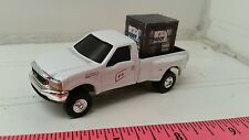 1/64 CUSTOM Ford f350 fs coop TRUCK & probox hisoy Soybean seed ERTL farm toy
