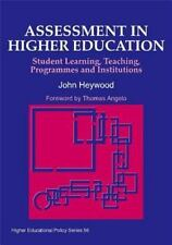 Assessment in Higher Education: Student Learning, Teaching, Programmes-ExLibrary