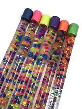 18 Inch Swirl & Twirl Bead & Glitter Wand Baton Visual Sensory Toy Stress Relief