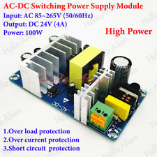 AC-DC Power Supply 110V 220V 230V to 24V 4A 100W Converter Switching Transformer