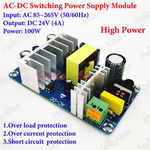 AC-DC 110V 220V 230V to 24V 4A 100W Buck Converter Switching Power Supply Module