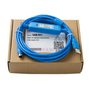 USB-FP1,USB-AFP8550 V2.0 Programming Cable Suits for FP1 PLC,Support WIN7