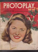 Photoplay December 1949 Ingrid Bergman Shirley Temple John Derek Alan Ladd