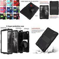 Shockproof Armor Stand Case For Samsung Galaxy Tab A 10.1 SM-T510 T515 2019