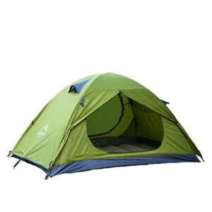 2 Person Double Layer Camping Tent Travel Waterproof 4Season Outdoor Backpacking