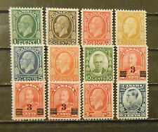 lot early Canada stamp mint