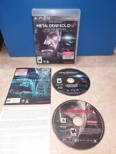 Metal Gear Solid V: Ground Zero and Metal Gear Solid 4: Guns of the Patriots...