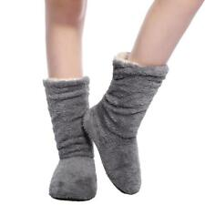 Home Plush Shoes Slippers Indoor Women Warm House Soft Cartoon Anti Slip Winter