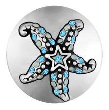 "Ginger Snapsâ""¢ Jewelry Blue Sunny Starfish Sn21-37 Buy 4, Get 5Th $6.95 Snap Free"