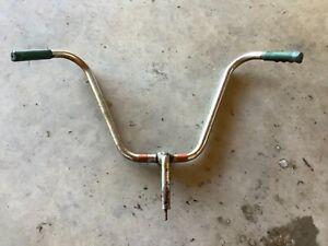 "AMF Roadmaster 13/14"" High Rise Bicycle Handlebars 1960's"