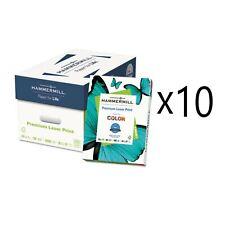 Premium Laser Print Paper 98 Bright 24lb 85 X 11 White 500ream 10 Reams