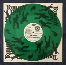 """House Of Pain """"Jump Around"""" Tommmy Boy 12"""" RARE Green Vinyl - MINT"""