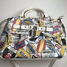 KATHY VAN ZEELAND FIFTH AVE NY LIMITED EDITION PURSE WITH CHARM Travel Bag
