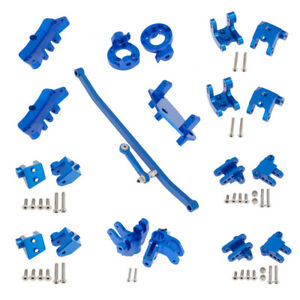 DIY Aluminum CNC Full Kit Upgrade Spare Parts For LOSI LMT 1/8 4WD Monster Truck