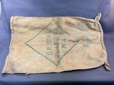 Antique Bag Canvas Jute Rice Premium Madagascar Deco Vintage