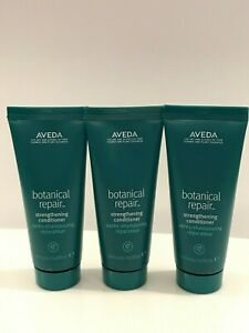 3xAveda botanical repair strengthening conditioner 1.4oz 40mlx3