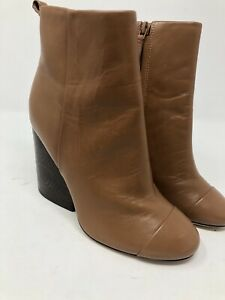Tory Burch Grove Women's royal tan leather booties Size 5 M 146