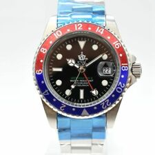 Classic Steel Bagelsport Homage Mens Wrist Watch Automatic Mechanical Swiss Date