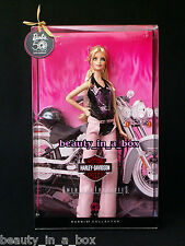 Harley Davidson Barbie Doll 2009 Pink Chaps Tattoo ""