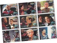 "Star Trek DS9 Memories From The Future MFTF: 9 Card ""Greatest Legends"" Set L1-9"