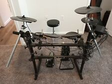 Roland Td 5 Percussion Sound Module Electronic Drums & Pearl throne included
