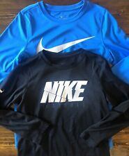 NIKE Youth Boys Size Medium Shirts Lot Of 2