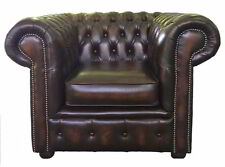 Chesterfield Leather Armchairs