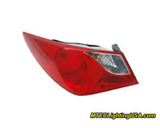 TYC Left Outer Side Tail Light Lamp Assembly for Hyundai Sonata 2011-2014