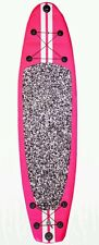 ".New 10' Stand Up Paddleboard - 6"" Board Width Inflatable SUP Paddle  Pink"