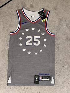 NIKE NBA AUTHENTIC PHILADELPHIA 76ers CITY EDTION JERSEY