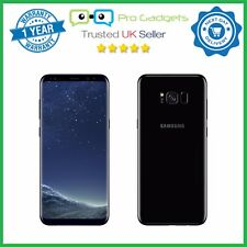 "New Samsung Galaxy S8 + Plus Dual SIM G955FD 64GB 6.2"" Unlocked - Midnight Black"