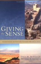 Giving the Sense: Understanding and Using Old Testament Historical Texts, , Acce