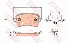 4x TRW Plaquettes de frein Arrière pour AUDI A4 A5 Q5 GDB2107 - Mister Auto