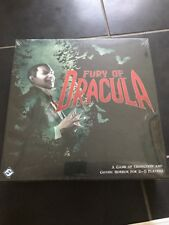 Fury Of Dracula 3rd Edition ENGLISH Board Game BRAND NEW & SEALED