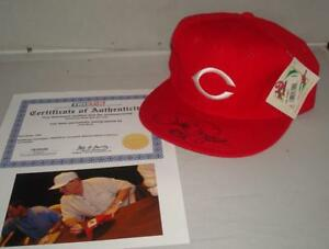 Pete Rose signed Cincinnati Reds Cap - Tristar Authenticated - MLB's Hit King!!
