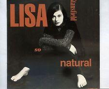 CD LISA STANSFIELD so natural GERMAN EX