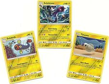 RARE EELEKTROSS+EELEKTRIK+TYNAMO--3 Pokemon EVOLUTION Set BURNING SHADOWS- MINT