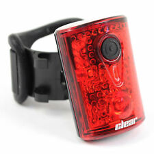 Clear Bicycle Products Red 3-LED Light Rear Bike Taillight USB Rechargeable
