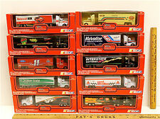 10 Vintage Racing Champions 1993 Diecast Cab Team Transporters 1:87 Scale NIB